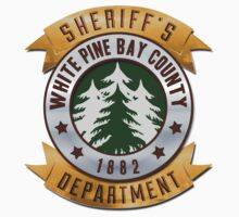 White Pines Bay Sheriff T-Shirt