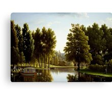 Bidauld, Jean Joseph Xavier - The Park at Mortefontaine Painting Photograph Canvas Print