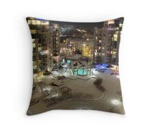 Silent Night, Holy Night...All is Calm, All is Bright... Throw Pillow