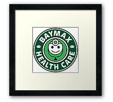 Baymax Health Care Framed Print