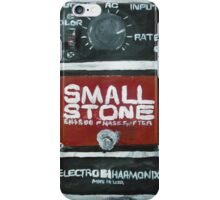 Radiohead Small Stone Guitar Pedal Fine Art Print Of Acrylic Painting iPhone Case/Skin