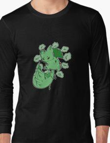 Plant Elemental Kitsune Long Sleeve T-Shirt