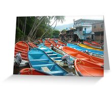 Pto Colombia Greeting Card