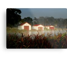 The Boatsheds Metal Print