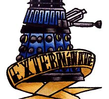 Dalek - Doctor Who  by suburbanavenger