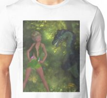 Conversation With A Dragon Unisex T-Shirt