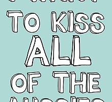 I WANT TO KISS ALL OF THE AUSSIES by Believeabull