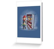 Arcade Kong Greeting Card