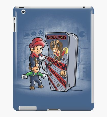 Arcade Kong iPad Case/Skin