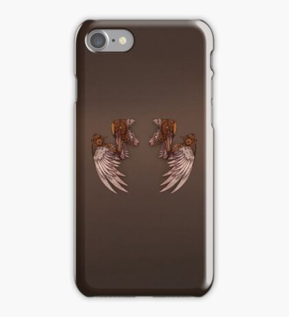 Steampunk Angel Wings-Phone Cover iPhone Case/Skin