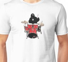 He drums like an animal! Unisex T-Shirt