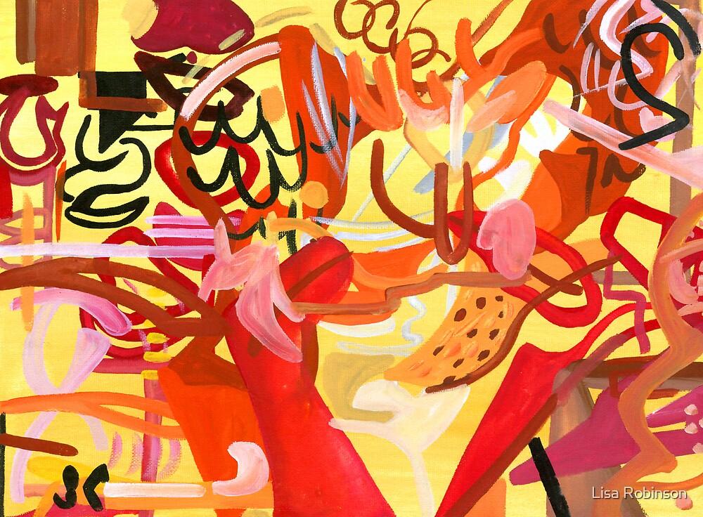 Abstract: Flamenco by Lisa V Robinson