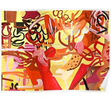 Abstract: Flamenco Poster