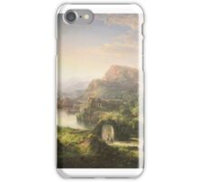 Dream of Italy, oil on canvas painting by William Louis Sonntag, 1859 Painting Photograph iPhone Case/Skin