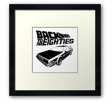 Back To The Eighties Framed Print