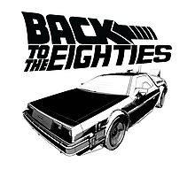 Back To The Eighties Photographic Print