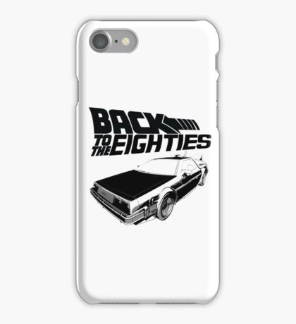 Back To The Eighties iPhone Case/Skin