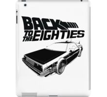 Back To The Eighties iPad Case/Skin