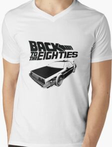 Back To The Eighties Mens V-Neck T-Shirt
