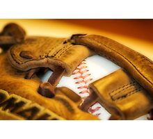 How About a Game of Baseball Photographic Print