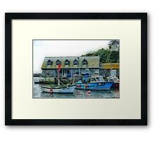 Fish and sChips Framed Print