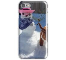 Roundin' Up Them Little Doggies iPhone Case/Skin