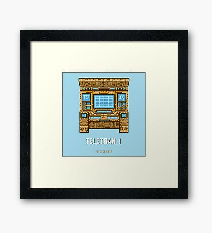 Teletran 1 Framed Print