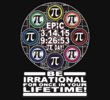 Ultimate Irrational Pi Day  With Epic Pi Symbols Kids Clothes