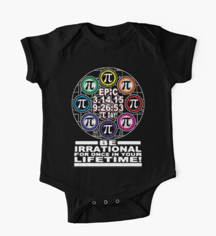 Ultimate Irrational Pi Day  With Epic Pi Symbols One Piece - Short Sleeve