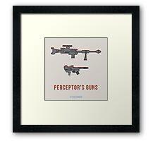 TFDecember 18 - Perceptor's Guns Framed Print