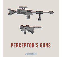 TFDecember 18 - Perceptor's Guns Photographic Print