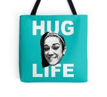 HUG LIFE - White Font Tote Bag