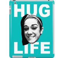 HUG LIFE - White Font iPad Case/Skin