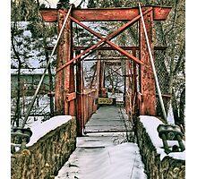 Sensei's Bridge Photographic Print