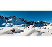 Melchseefrut in winter Photographic Print