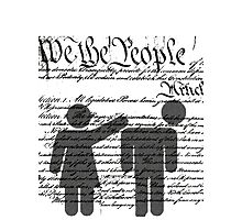 We the People Photographic Print