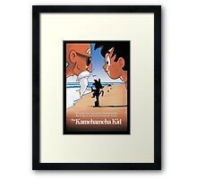 The Kamehameha Kid Framed Print