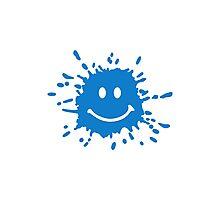 Smiley splash Photographic Print