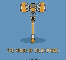 TFDecember 26 - Forge of Solus Prime by josedelavega