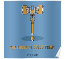 TFDecember 26 - Forge of Solus Prime Poster