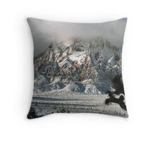 Mount Wilson Snow Throw Pillow