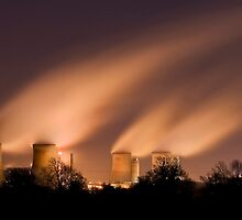 Didcot power station by igotmeacanon