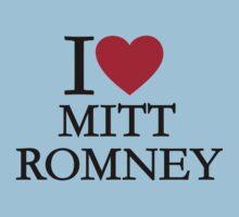 I love Mitt Romney Kids Clothes