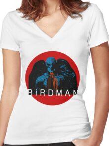 birdman Women's Fitted V-Neck T-Shirt