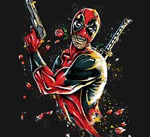 Deadpool - Tango of Death by artbyjp