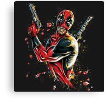 Deadpool - Tango of Death Canvas Print