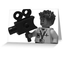 Lego - Director Of Photography  Greeting Card