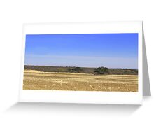 Big Sky Greeting Card