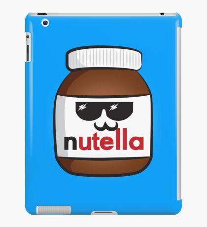 Nutella face 6 iPad Case/Skin