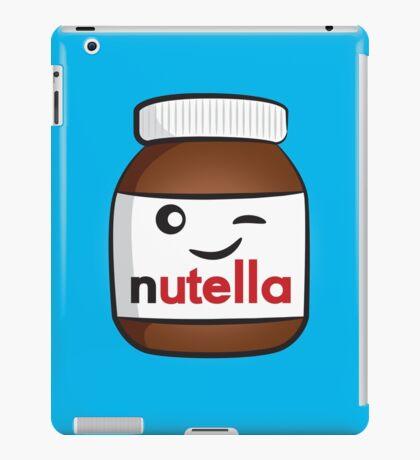 Nutella face 4 iPad Case/Skin
